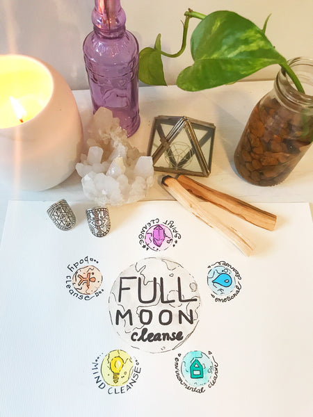 full moon cleansing rituals sarah wilder