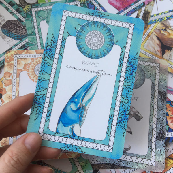 whale communication oracle card the fifth element life