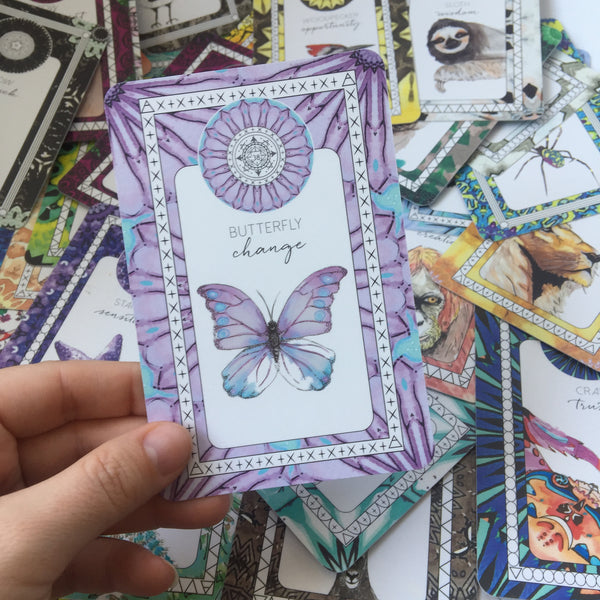 butterfly change oracle card the fifth element life