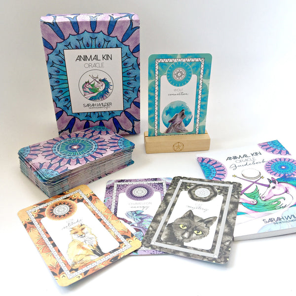 ANIMAL KIN ORACLE GIFT SET