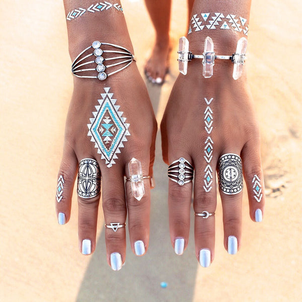Mandala Rings by The Fifth Element Life