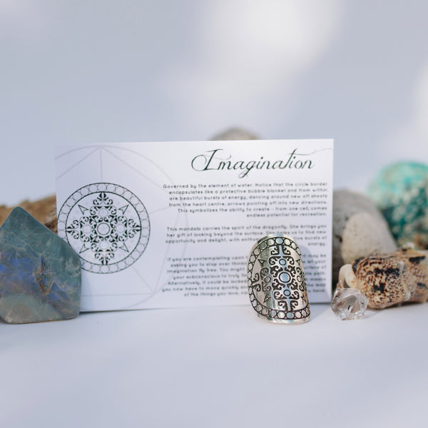 IMAGINATION MANDALA RING