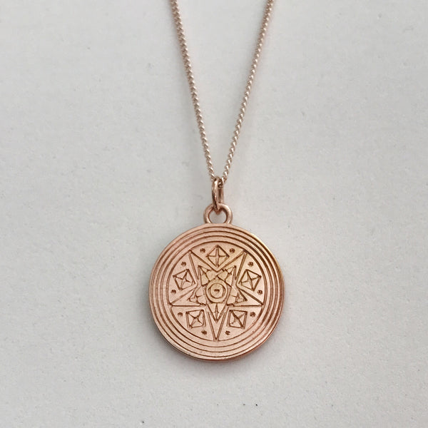 SPIRITESS PENDANT NECKLACE ROSE GOLD - PRE-ORDER (EARLY SEPT DEL)