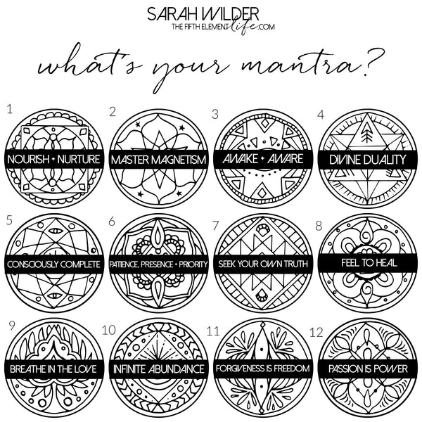 Mantra Mandala Collection Quiz by The Fifth Element Life