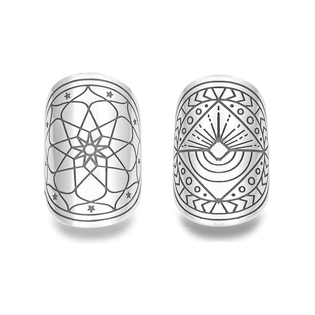 Mantra Magick Ring Duo by The Fifth Element Life