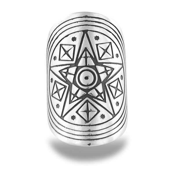 Spiritess Mandala Ring by The Fifth Element Life