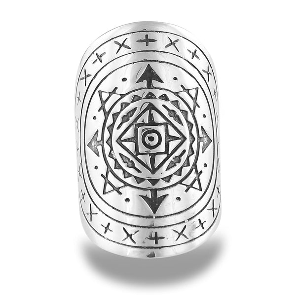 Airess Mandala Ring by The Fifth Element Life
