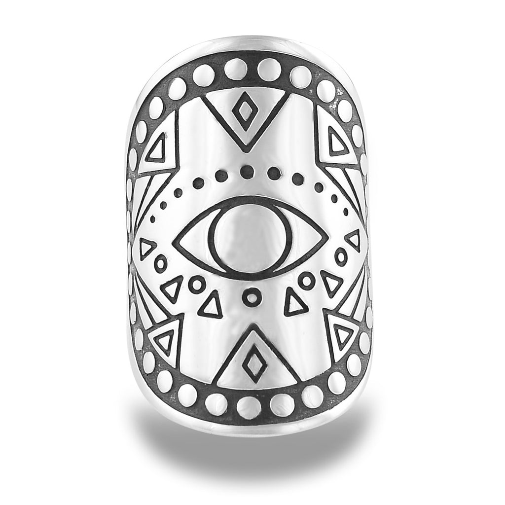 Awake and Awake Mantra Mandala Ring by The Fifth Element Life