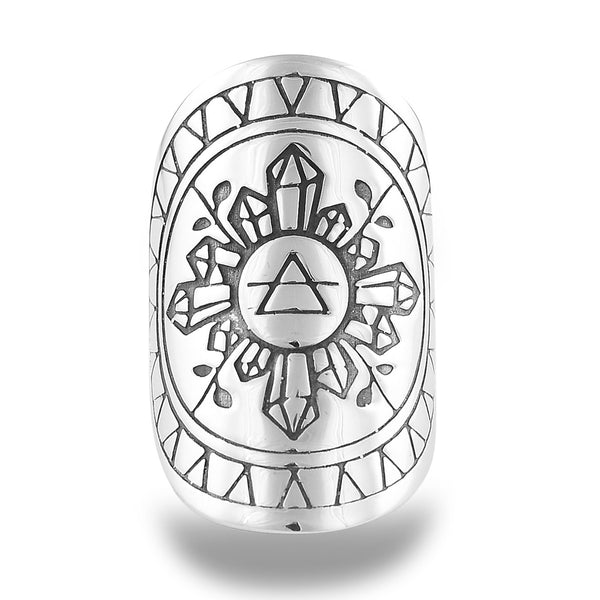 Earthess Mandala Ring by The Fifth Element Life