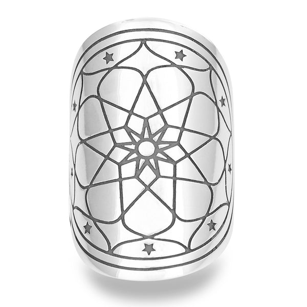Master Magnetism Mantra Mandala Ring by The Fifth Element Life