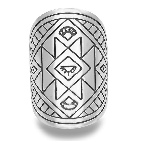 SEEK YOUR OWN TRUTH MANTRA MANDALA RING