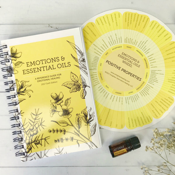 EMOTIONS + ESSENTIAL OILS BOOK - 6TH EDITION (2017)