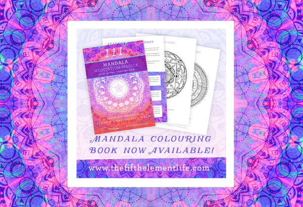 111 Mandala Meditation Magick Colouring eBook by The Fifth Element Life