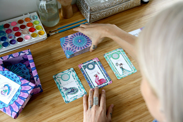 Animal Kin Oracle Cards by Sarah Wilder The Fifth Element Life
