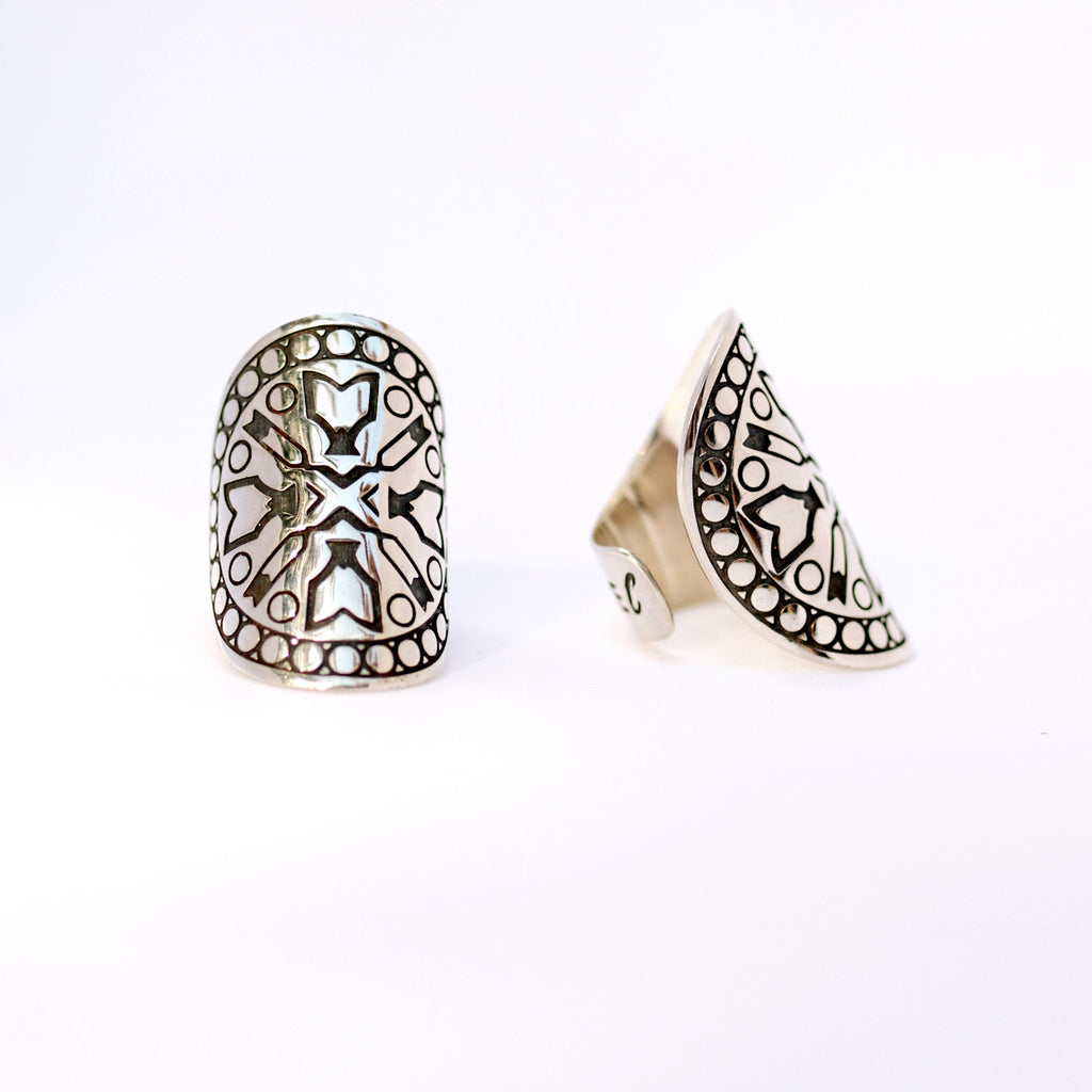 LOVE MANDALA RING - PRESALE ONLY