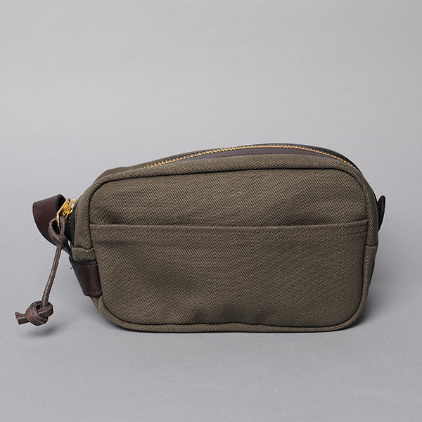 Filson Otter Green Dopp Kit