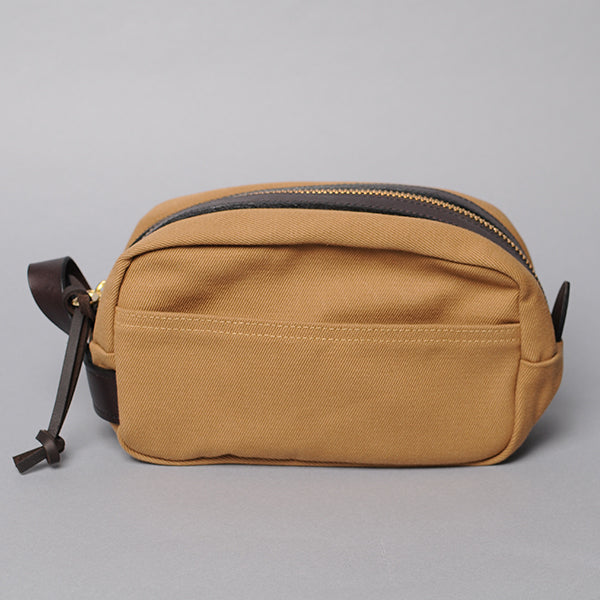 Filson Tan Dopp Kit