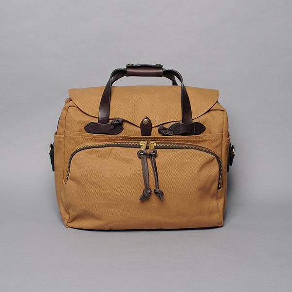 Filson Twill Padded Computer Bag - Tan