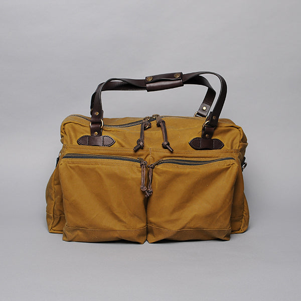 Filson 48-Hour Tin Cloth Duffle Bag - Tan