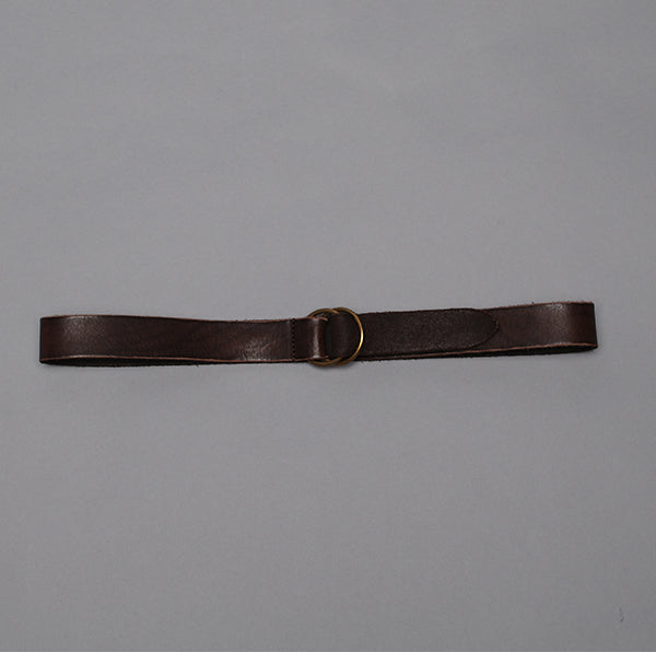 Simonnot-Godard Dark Brown O-Ring Belt