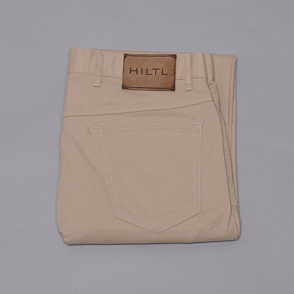 Hiltl Khaki Cotton Five Pocket