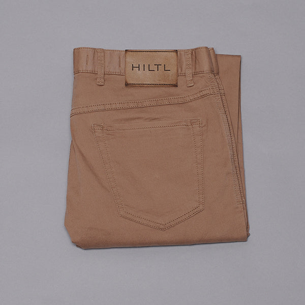 Hiltl Bark Cotton Five Pocket