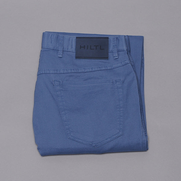 Hiltl Blue Cotton Five Pocket