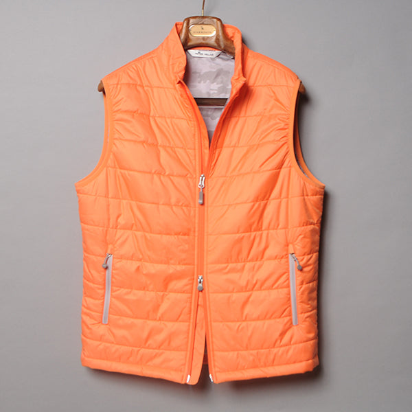 Peter Millar Orange Hyperlight Performance Vest