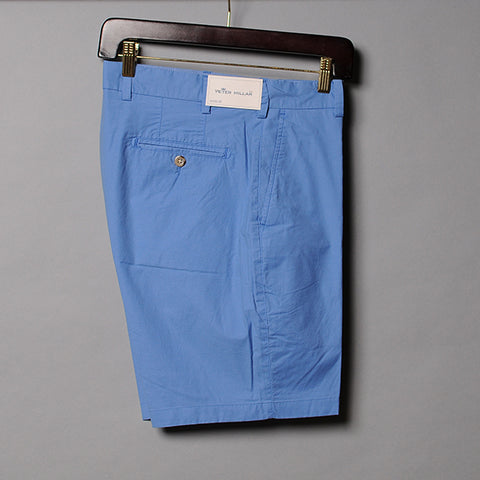 Peter Millar Blue Poplin Short
