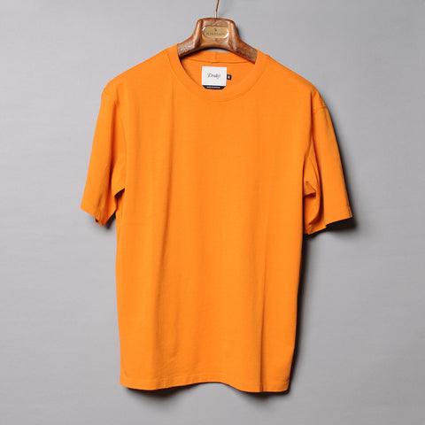 Drake's Orange Cotton T-Shirt