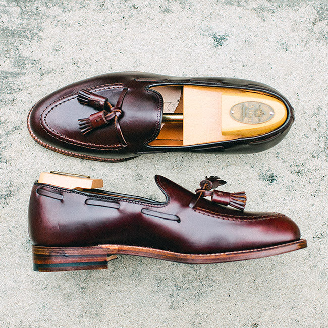 Alden Dark Brown Chromexcel Tassel Loafer