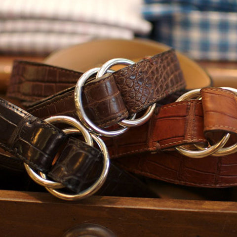 Harrison O-Ring Belt by Martin Dingman