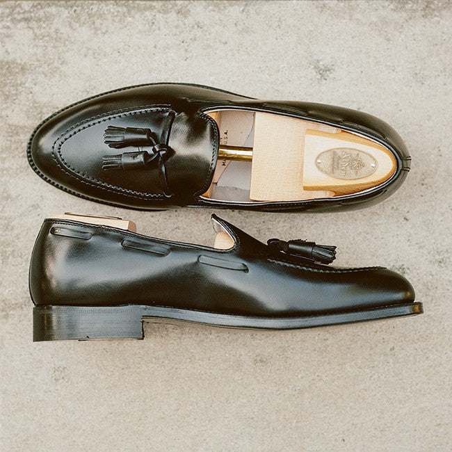Alden Black Tassel Loafer