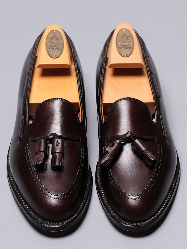 Alden Dark Brown Tassel Loafer