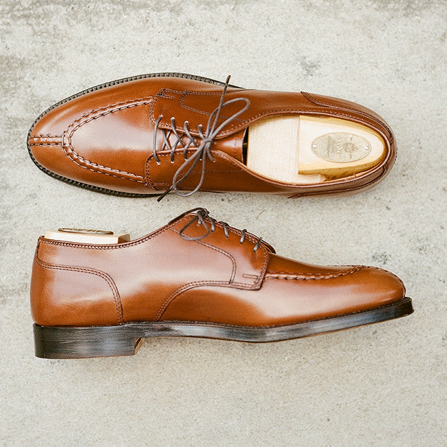 Alden Burnished Tan Handsewn Norwegian Split Toe