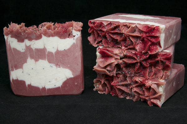 Cranberry Poppyseed Soap