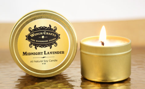 Midnight Lavender Soy Candle