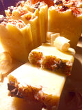 French Vanilla Amber Safflower Soap