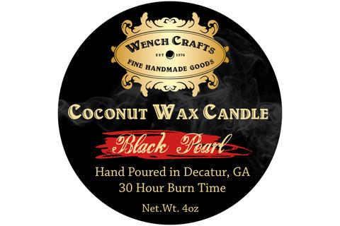 Black Pearl Coconut Wax Candle