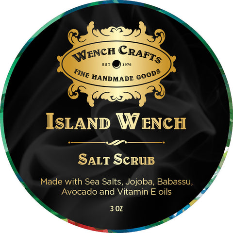 Island Wench Salt Scrub
