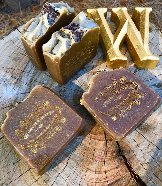Tumeric & Blueberry Seed Scrub Bar