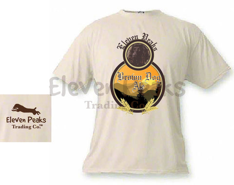 Brown Dog Ale Short Sleeve T-Shirt