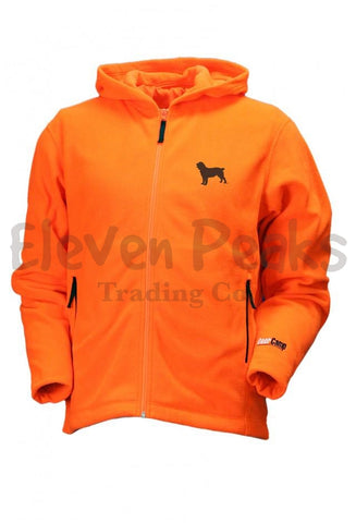 DeerCamp Fleece Full-zip Hoodie W/ BSS® Silhouette