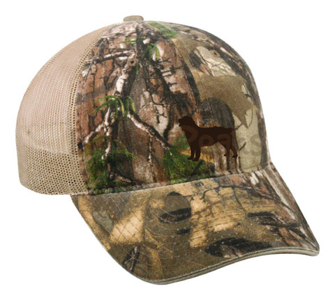 Garment Washed Camo Cap with Mesh-Real Tree Xtra®