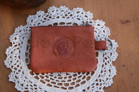 Walnut Canyon Leather ID Pouch/Keychain
