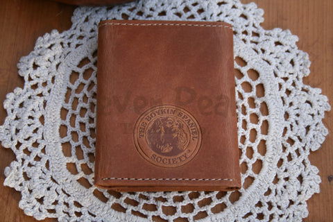 Walnut Grove Leather Tri-Fold Wallet