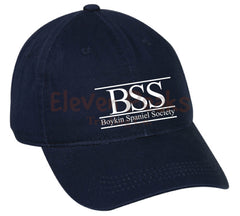 Unisex Garment Washed Twill Cap w/ BSS®