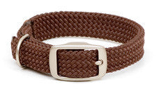 Mendota Double Braid Collar w/ Satin Hardware