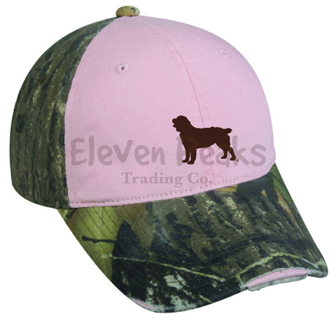 Frayed Ladies' Camouflage Cap