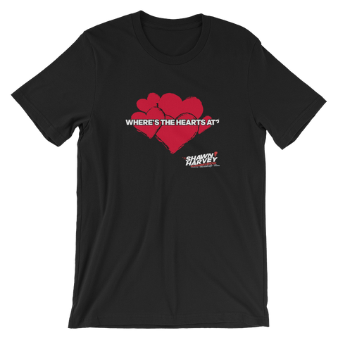 Shawn Harvey Morning Show HEARTS Tee